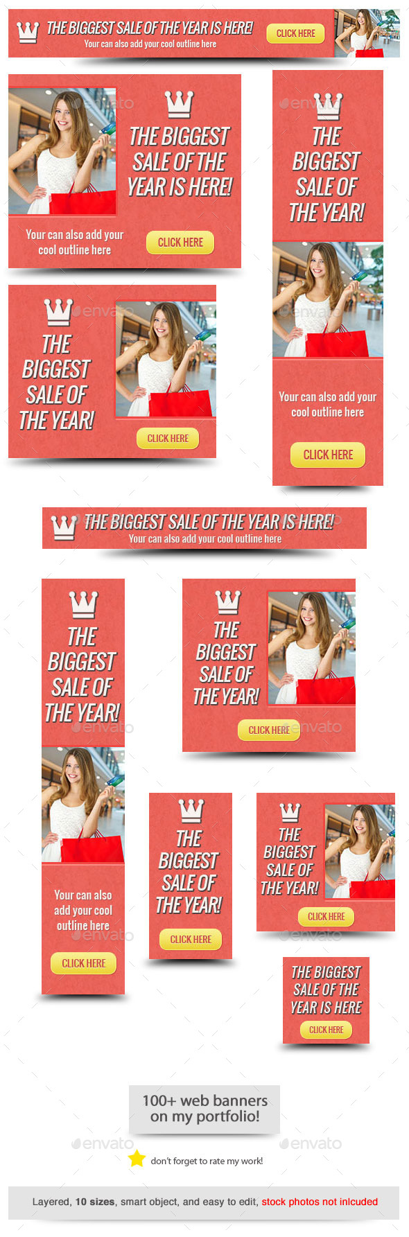 GraphicRiver Sale of the Year Web Banner 10805807