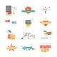 Set of Sticker Labels - GraphicRiver Item for Sale