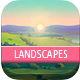 4 Drawn Landscapes - GraphicRiver Item for Sale