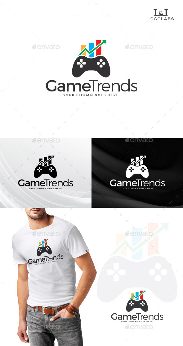 GraphicRiver Game Trend Logo 10807088