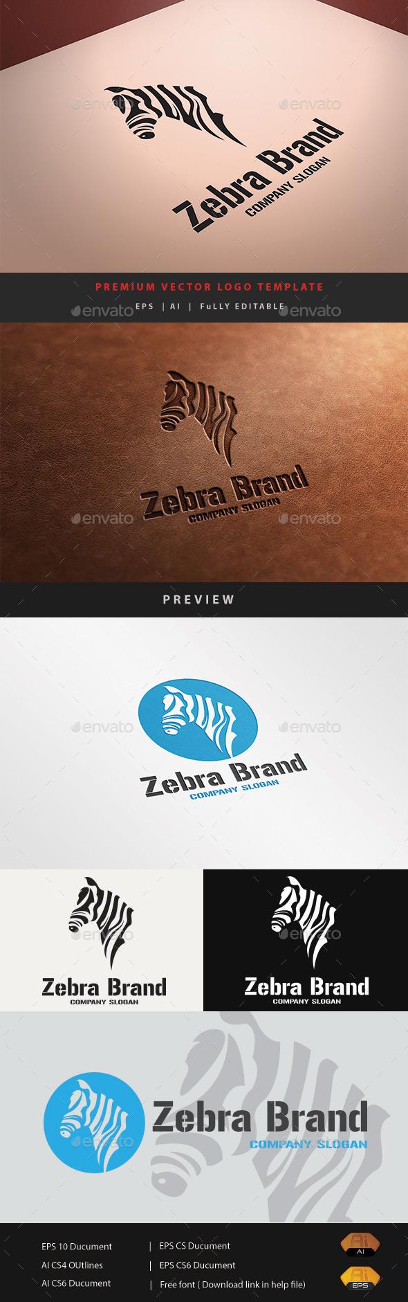GraphicRiver Zebra Brand 10807146