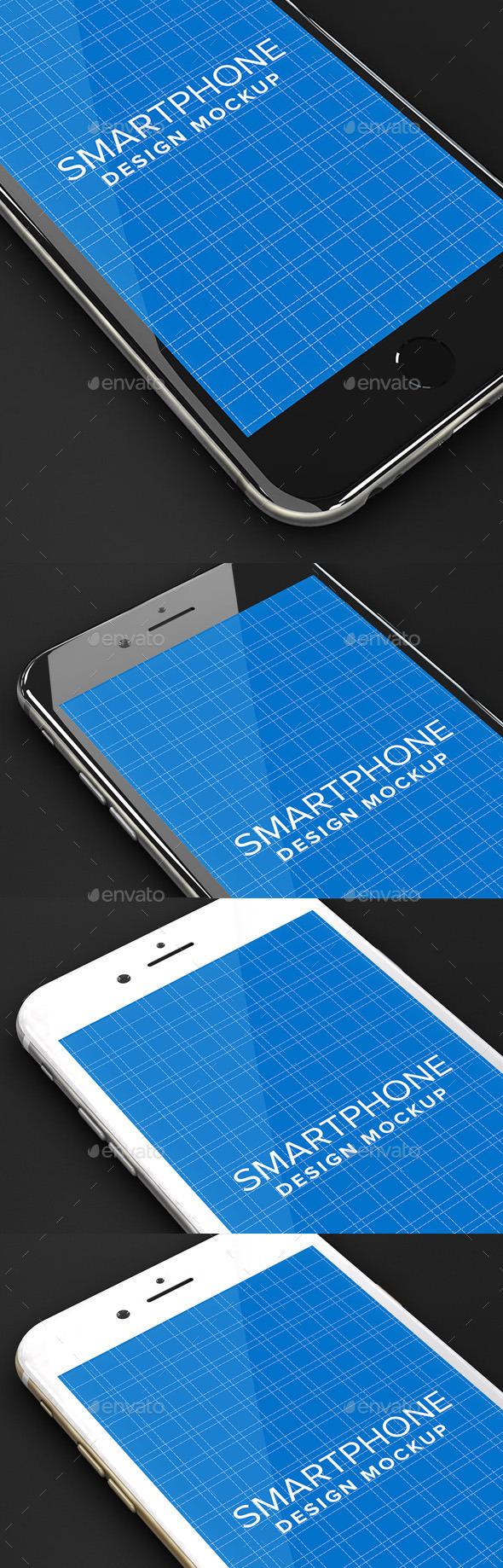 GraphicRiver Smartphone Design Mockup 10808186