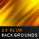 20 Blur Backgrounds Vol.1 - GraphicRiver Item for Sale