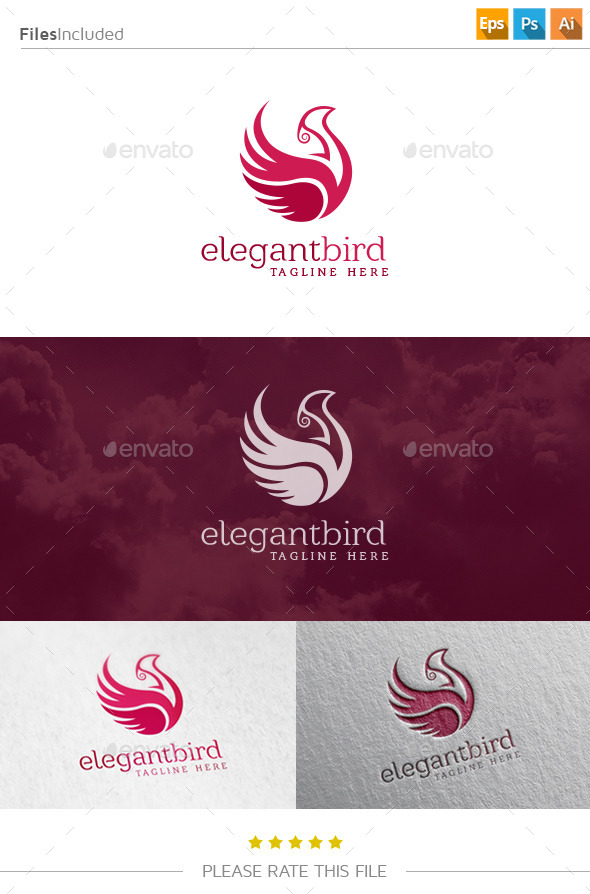 GraphicRiver Bird Logo 10808789