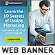 Marketing Secrets Web Banner - GraphicRiver Item for Sale