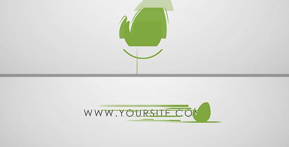 AE模板:迷你简洁 品牌公司企业介绍 社会媒体 片头logo展示模板Videohive Quick Minimal Logo