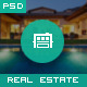 Houseland - Real Estate PSD Template - ThemeForest Item for Sale