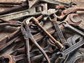 set of old dirty tools in vintage style - PhotoDune Item for Sale