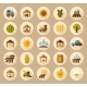 Farm Field Icons