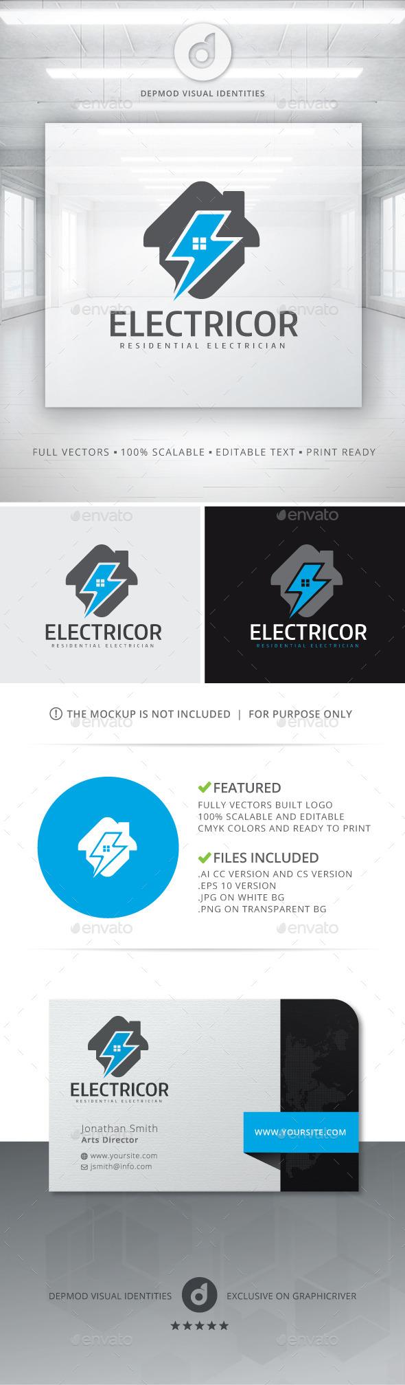 GraphicRiver Electricor Logo 10809521
