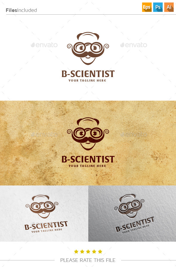 GraphicRiver Science Logo 10809824