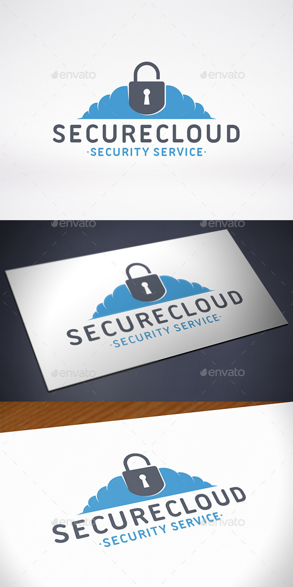GraphicRiver Sucure Cloud Logo Template 10809831