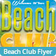 Beach Club Flyer - GraphicRiver Item for Sale