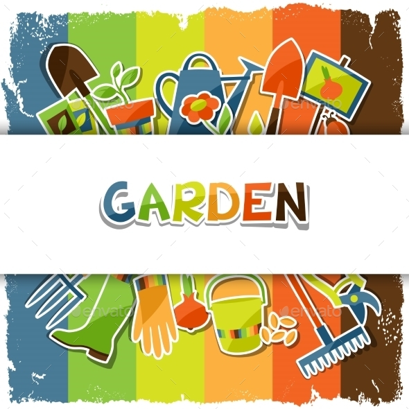 GraphicRiver Garden Background 10810072