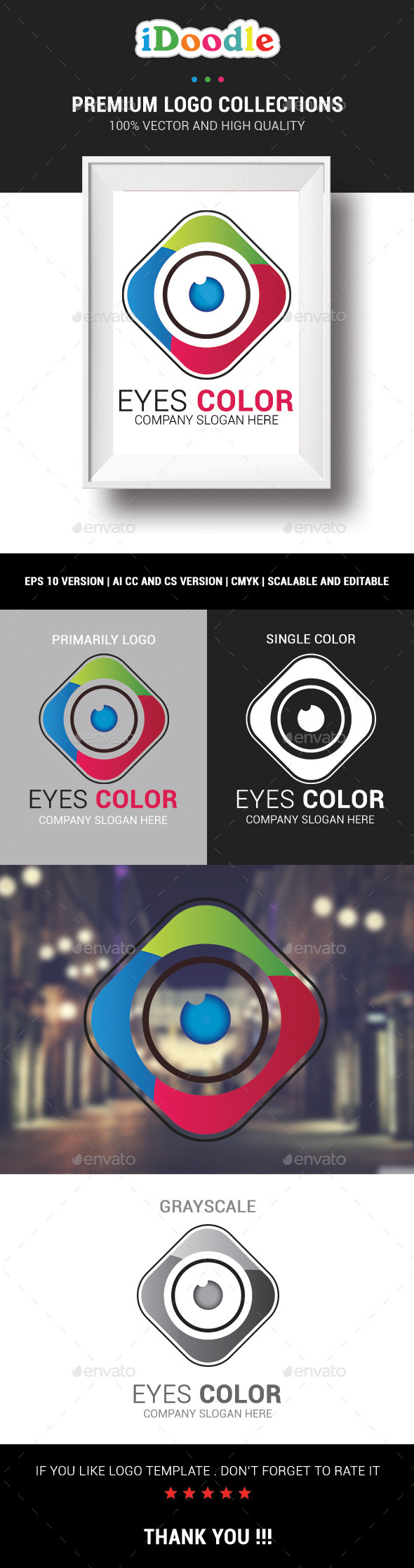 GraphicRiver Eyes Color 10810390