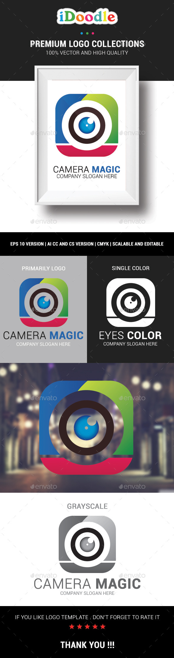 GraphicRiver Camera Magic 10810400