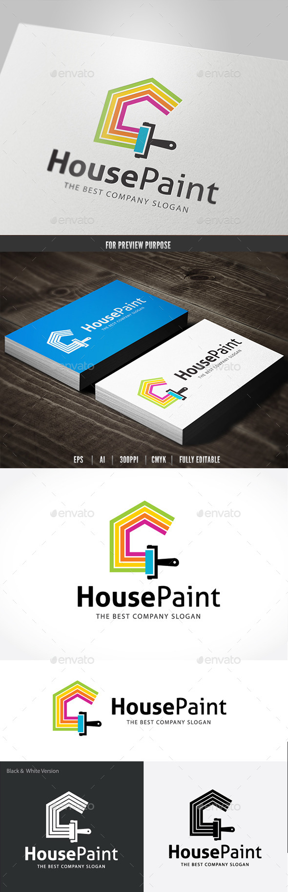 GraphicRiver House Paint 10810543
