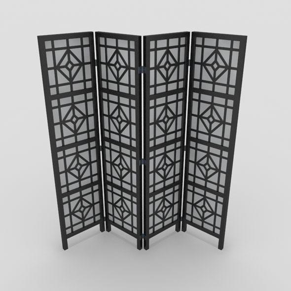 3DOcean Room Divider-2 10810929