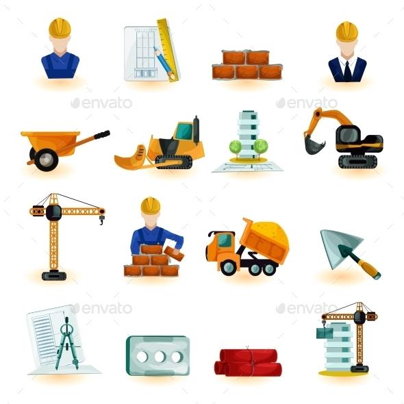 GraphicRiver Architect Icons Set 10811007