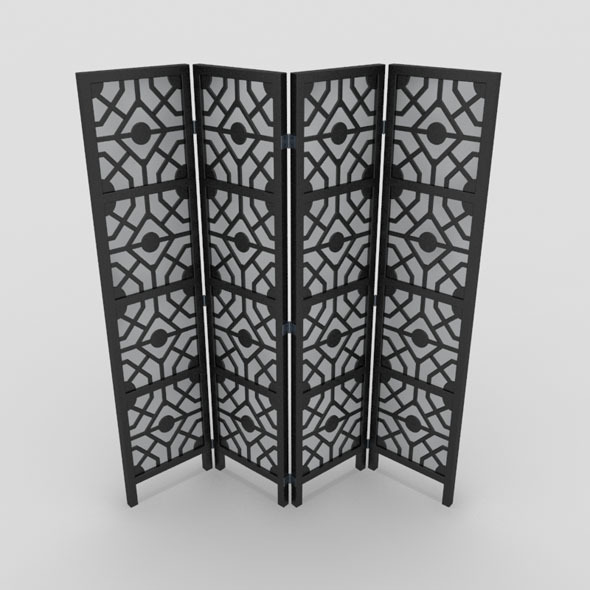 Room Divider-3 - 3DOcean Item for Sale