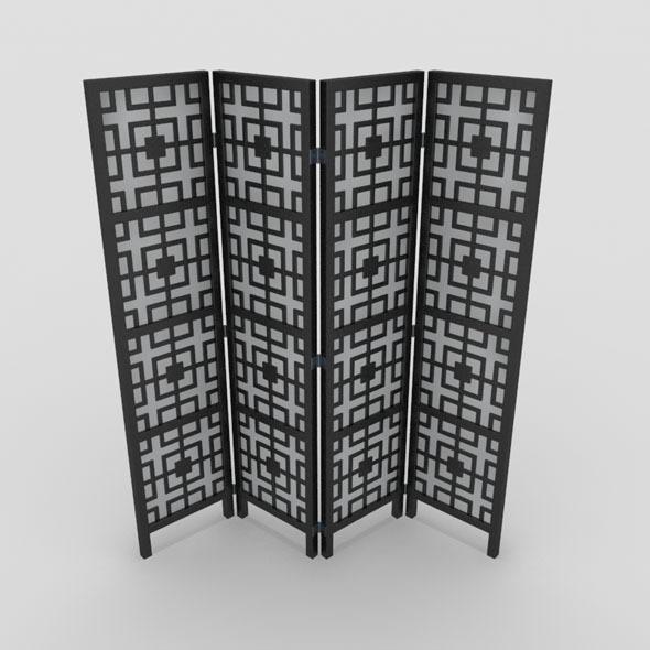 Room Divider-4 - 3DOcean Item for Sale