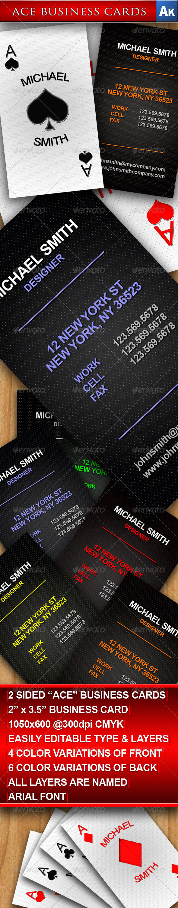 Ace Business Cards - Creative Business Cards