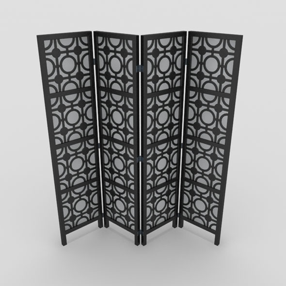Room Divider-5 - 3DOcean Item for Sale
