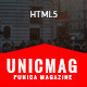 UnicMag - HTML5 Responsive Template - ThemeForest Item for Sale