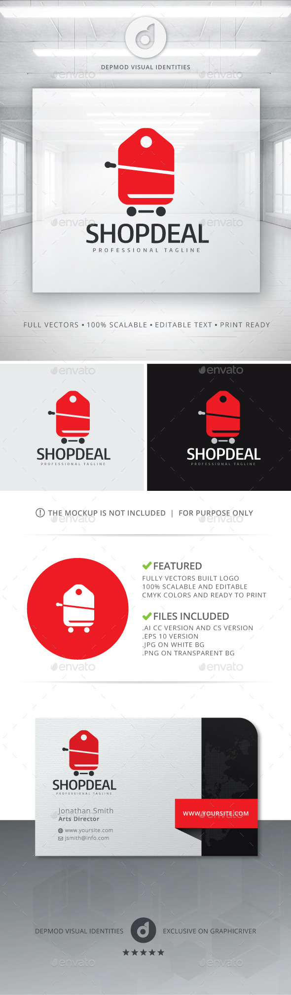 GraphicRiver Shop Deal V.03 Logo 10811702