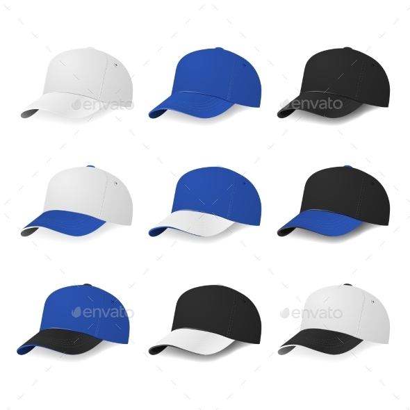 GraphicRiver Baseball Caps 10811926
