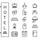 Hotel Icon  - GraphicRiver Item for Sale