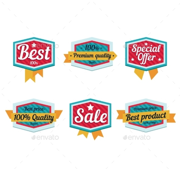 GraphicRiver Sale Emblems 10812230