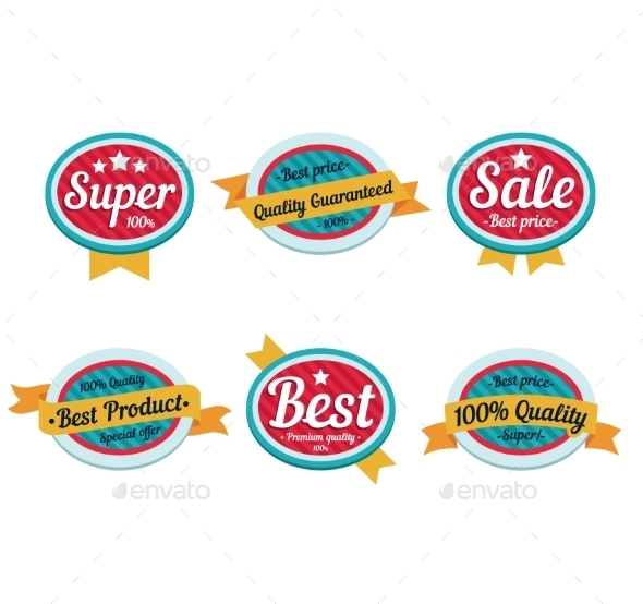 GraphicRiver Emblem Sale Labels 10812232