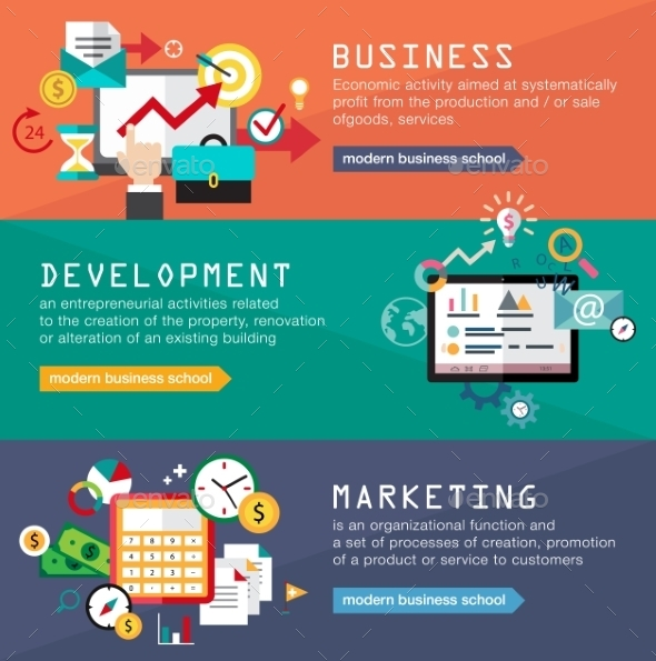 GraphicRiver Business Banners 10812240