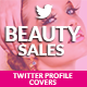 Twitter Profile Covers - Beauty Sale - GraphicRiver Item for Sale