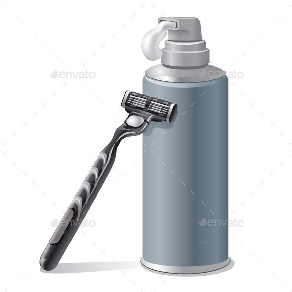 GraphicRiver Shaving Foam 10813244