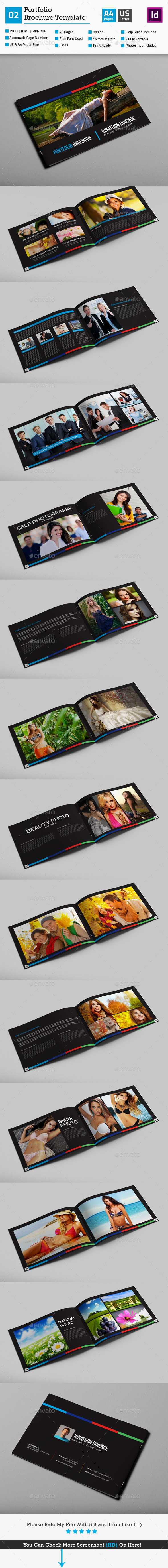 GraphicRiver Portfolio Brochure Template 02 10813460