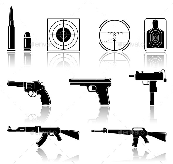GraphicRiver Set of Arms 10813569