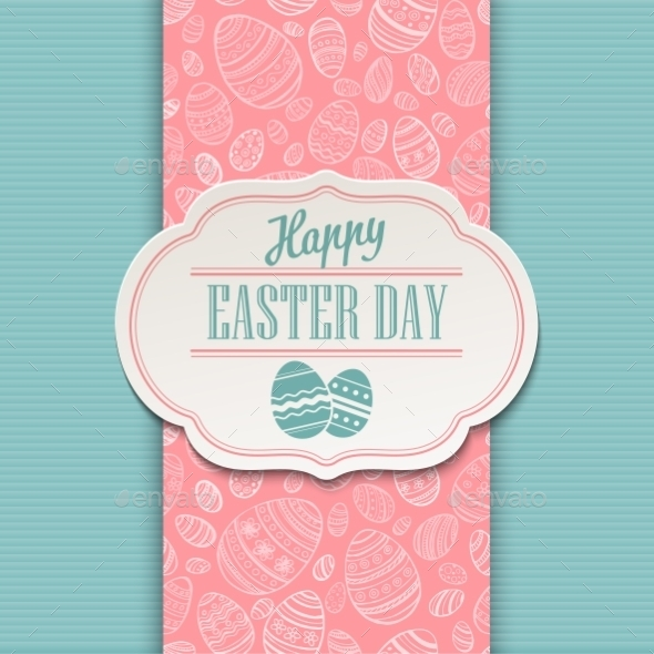 GraphicRiver Easter Greeting Card 10813571
