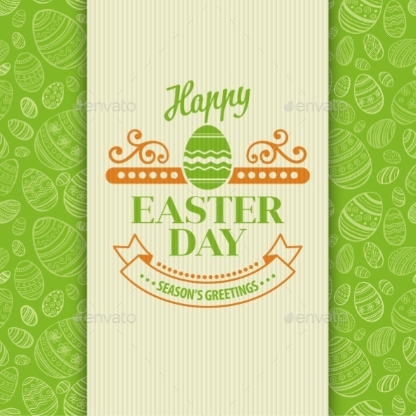 GraphicRiver Easter Greeting Card 10813621
