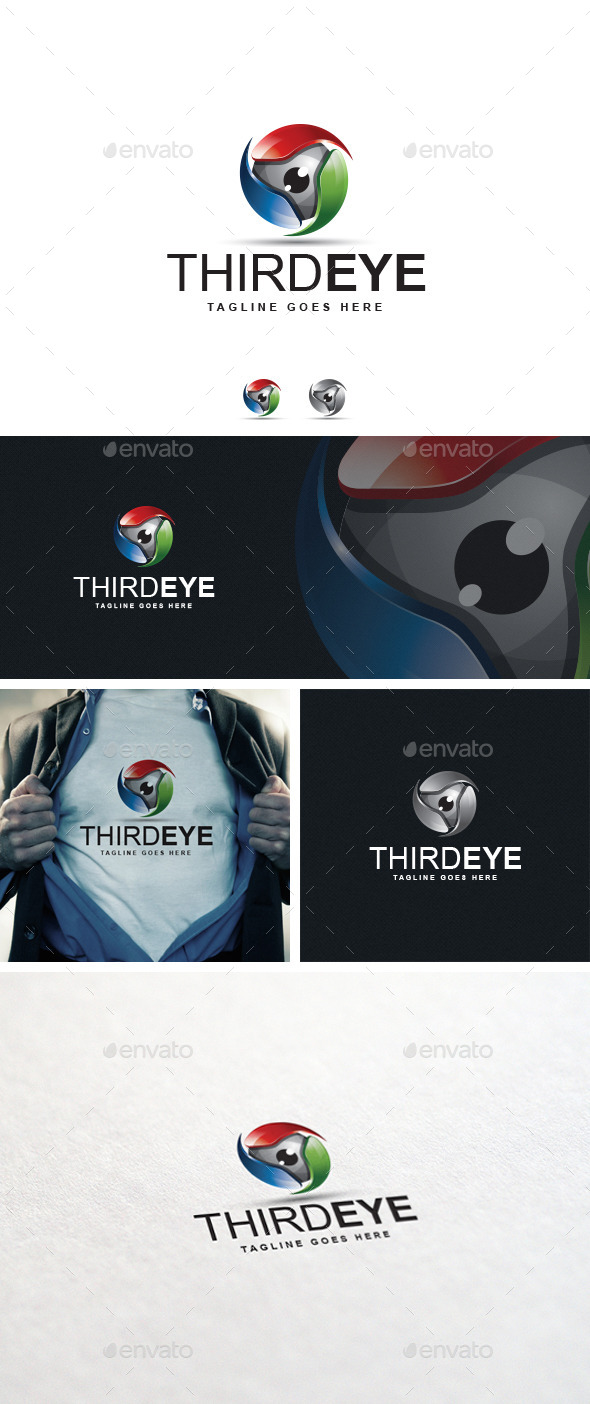 GraphicRiver Third Eye logo Template 10681200