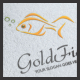 Gold Fish Logo - GraphicRiver Item for Sale