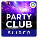 Night Club Slider - GraphicRiver Item for Sale
