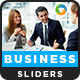 Business Sliders - 2 Designs - GraphicRiver Item for Sale