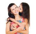 Little girl hugging her mother - PhotoDune Item for Sale