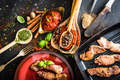 grilled meat  with tomato sauce and spices - PhotoDune Item for Sale