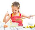 little girl making dough - PhotoDune Item for Sale