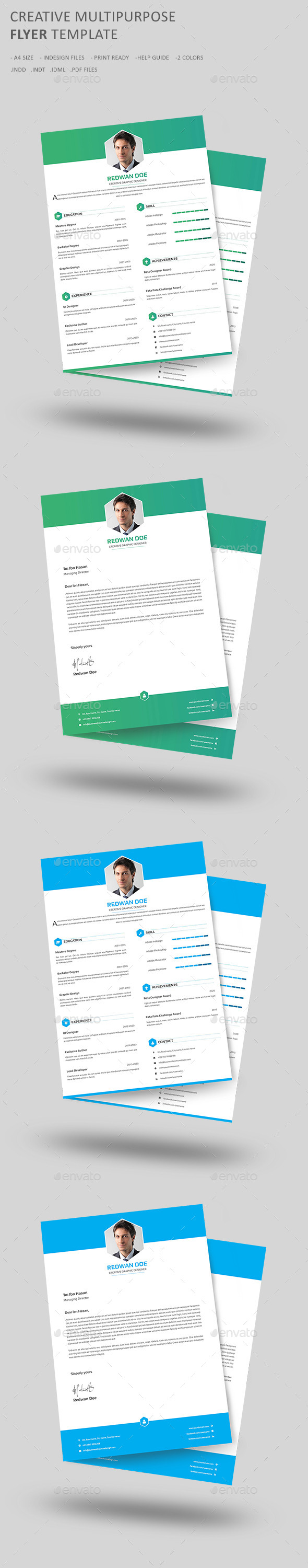 GraphicRiver Resume CV 10814799