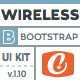 Wireless- Minimalist Bootstrap UI Kit