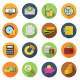 Finance Circle Icons - GraphicRiver Item for Sale